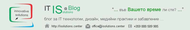 IT IS @ blog